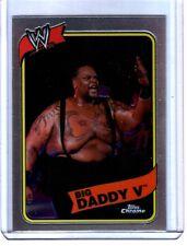 WWE Big Daddy V #43 2008 Topps Heritage III Chrome Refractor Insert Card