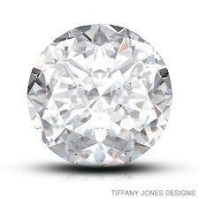1.01ct H-VS1 Exc-Cut Round Brilliant AGI 100% Natural Diamond 6.49x6.59x3.89mm
