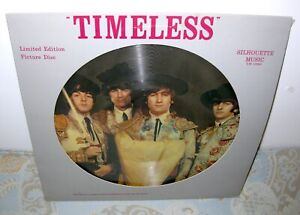 THE BEATLES Timeless LP Orig Silhouette PICTURE DISC Interview JOHN LENNON NM!!