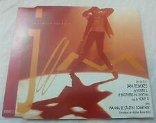 Jam CD Single - Michael Jackson - Jam & Wanna Be Startin' Somethin' Mixes