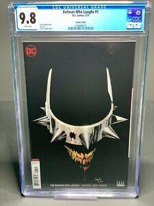 BATMAN Who Laughs #1 B JOCK 1st print CGC 9.8