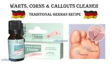 VERRUCA, WARTS, CORNS, CALLOUTS REMOVER 10 ML GERMAN RECIPE