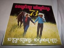 various COUNTRY WINNERS '73-JOHNNY CASH...NEW SEALED LP