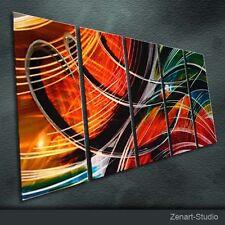Modern Original Metal Art Large Abstract Special Indoor Outdoor Decor by Zenart