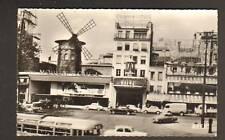 PARIS Cinéma MOULIN ROUGE : AUTOBUS,  RENAULT DAUPHINE
