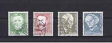 4 Francobolli Svizzera 1978 usati