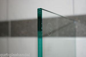 ESG Glas 4 mm klar ,Sicherheitsglas mit gesäumten Kanten