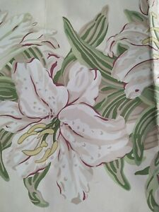 Laura Ashley Wallpaper Boarder Vintage  Tiger Lily  New Unopened