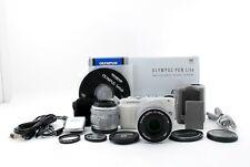 Olympus Pen Lite E-PL6 Bianco + 14-42, 40-150 Kit Obiettivo (5892 Shot )[ EXC #