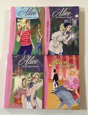 4 livres ALICE Caroline Quine Bibliothèque rose  LIVRE enfant