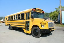 2002 FREIGHTLINER WHEELCHAIR LIFT SCHOOL BUS DIESEL ENGINE A/C EQUIPPED