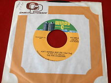 FIVE STAIRSTEPS~ AIN'T GONNA REST ~ MINT~ UNPLAYED STORE STOCK~ WINDY C~ SOUL 45