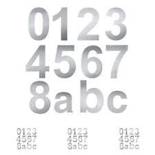 10 cm Hausnummer Edelstahl Hausnummern V2A NEU Made in Germany Ziffer Zahlen VA