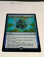 Magic the Gathering MTG Inscription of Insight x1 Rare FOIL Card NM/M Rising