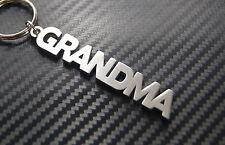 Grand-MAMAN grand Granny Maman Nan Porte-clé clé Sur-mesure Acier Inoxydable