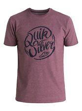 Quiksilver Riverside Plum Wine T- Shirts Sz Medium AQYZT04120