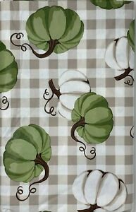Autumn Vinyl Cloth Backed Tablecloth. Round, Square, Oblong. Fall party decor