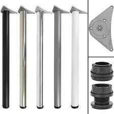 890mm Adjustable Kitchen Worktop/Unit/Breakfast Bar Table Leg - 60mm Diameter