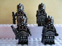 Star Wars Midnight Black Storm Clone Troopers Mini Figures Toys Models Jedi