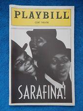 Sarafina! - Cort Theatre Playbill w/Ticket - September 2nd, 1988 - Baby Cele