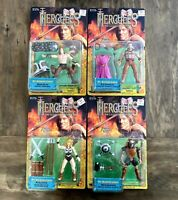 Hercules Mt Olympus Games Complete Set Of 4 Toybiz Figures Lot 1997 Toybiz 90s