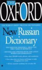 The Oxford New Russian Dictionary : Russian-English/English-Russian by Oxford...