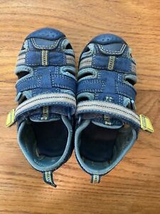 Pediped Toddler Sandals Water Blue Size 22 6.5
