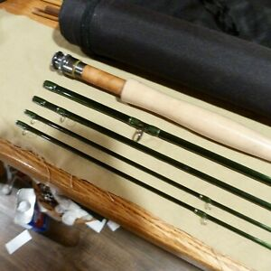 Black River Fly Rod 10ft Nymph 4pc 3wt,2tips ,IM6 Graphite blank Emerald Green