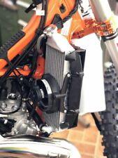 Trail Tech KTM Husqvarna /'16-/'19 Radiator Guard Fan Kit Combo Black 7322C-FN3