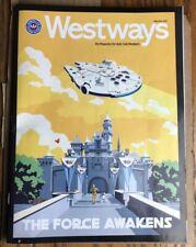 STEVE THOMAS WESTWAYS Disneyland Star Wars Land Galaxy's Edge Poster Art Cover