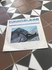 "Desireless(7"" Vinyl P/S)Voyage Voyage-CBS-DESI 2-UK-1988"