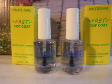 PROTEINAIL FAST DRYING TOP COAT IMPARTS BEAUTIFUL SHINE REDUCES CHIPPING SET 2