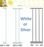 Lindam White Silver Sure Shut Extensions 7, 14, or 28cm Munchkin Kit