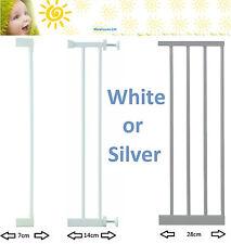 Lindam White Silver Sure Shut Universal Extensions 7, 14, or 28cm Munchkin Kit