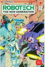 Robotech: the New Generation # 2 (estados unidos, 1985)