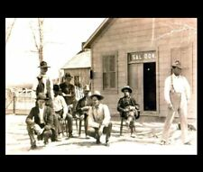 1889 Butch Cassidy Sundance Kid Saloon Photo Wild Bunch Hole In The Wall Gang