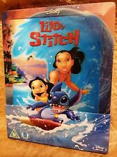 Disney LILO & STITCH BluRay Zavvi UK Limited Edition STEELBOOK Lenticular Magnet