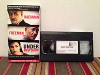 Under Suspicion (VHS, 2001) Tape & sleeve SCREENER