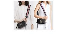 Genuine MARC JACOBS Snapshot Small Camera Bag  Black  MULTI hot sales.