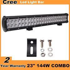 23inch 144W LED Light Bar Driivng ATV 4WD Offroad Lamp Truck Light PK 126W 20/24