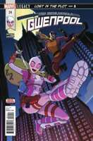 Unbelievable Gwenpool #24 MARVEL COMICS COVER A 1ST PRINT