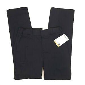 New Elbeco Women's Tek Twill Stretch Lark Uniform Pants - Size 10 Unhemmed Navy