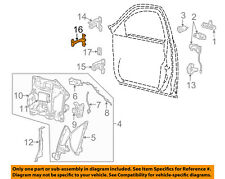 FORD OEM Front Door-Hinge Check 6W4Z5423552A