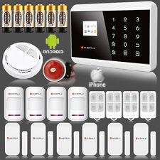 APP Control 8218g Wireless PSTN Home Burglar Alarm Security System GSM 2g ALARM