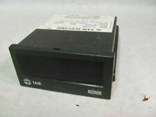 Taik S2-500R Speedometer/Tachometer, M/min., 110/220 VAC, Panel Mount