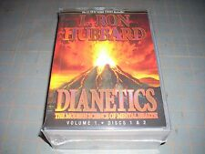 Dianetics The Modern Science of Mental Health L.Ron Hubbard Book & 16 Discs NEW