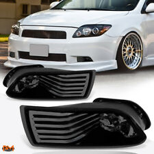 For 05-10 Scion TC Smoked Lens Front Bumper Driving Fog Light/Lamp+Switch Pair