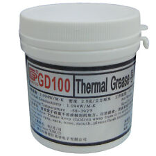 GD100 Thermal Paste Grease Silicone LED Heat Sink Compound White 150 Grams CN150