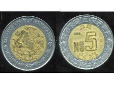 MEXIQUE 5 pesos  1994  ( bis )