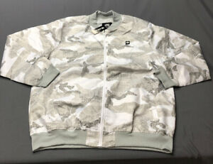 Ecko Unltd Gray White Camo Jacket (XXL, 2X)(NWT) MSRP $94